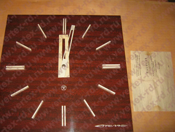 часы электрические вторичные показывающие ВЧС1-М2ПВ24Р-400-324К 24В