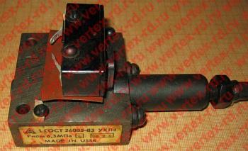 реле давления плунжерного типа РНОМ-6,3 МПА ДУ-4ММ ГОСТ26005-83