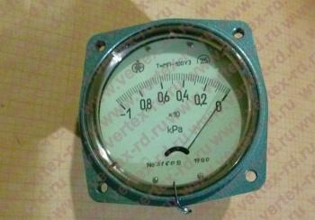 тягомер ТММП-100У3 ОТ -10…+10КПА КЛ.2,5